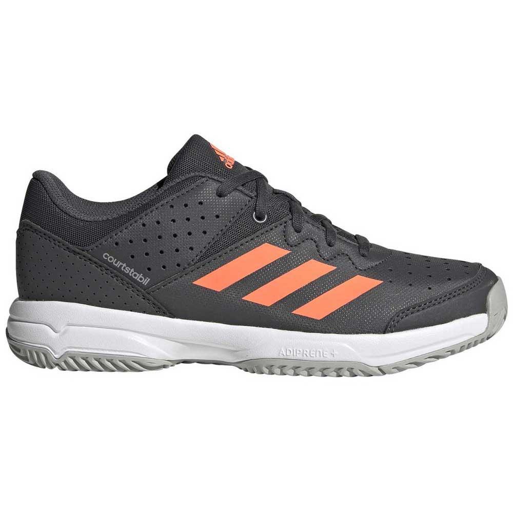 adidas Court Stabil Junior Grå kjøp og tilbud, Goalinn Joggesko