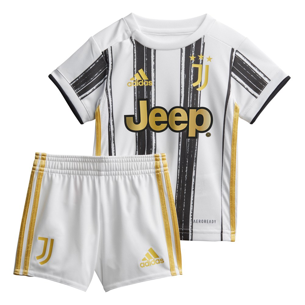 Adidas Juventus Home Baby Kit 20 21 White Goalinn
