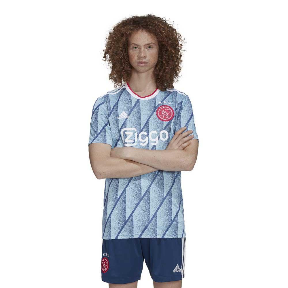 adidas Ajax Away 20/21 T-Shirt Blue buy and offers on Goalinn