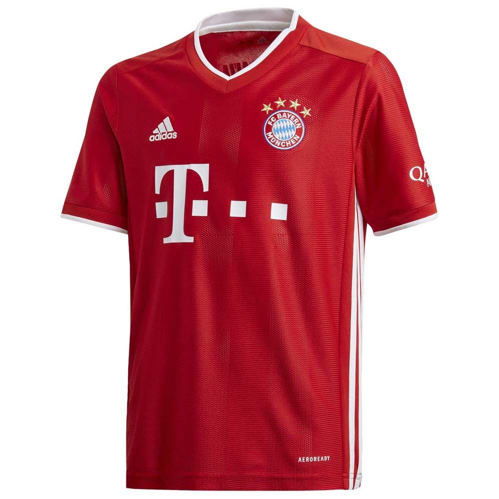 adidas FC Bayern Munich Home 20/21 Junior T-Shirt Red, Goalinn