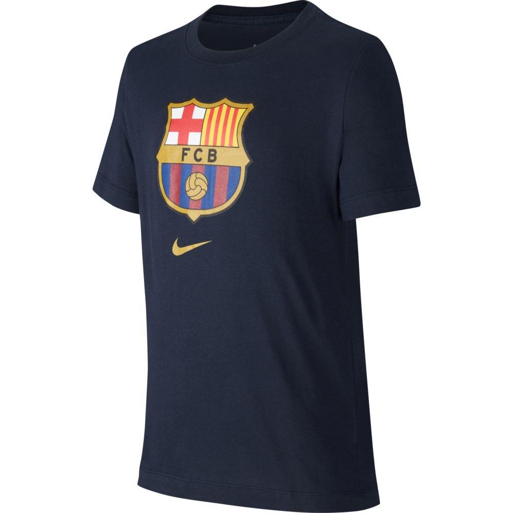 Nike Boys Fc Barcelona Evergreen Crest T-Shirt