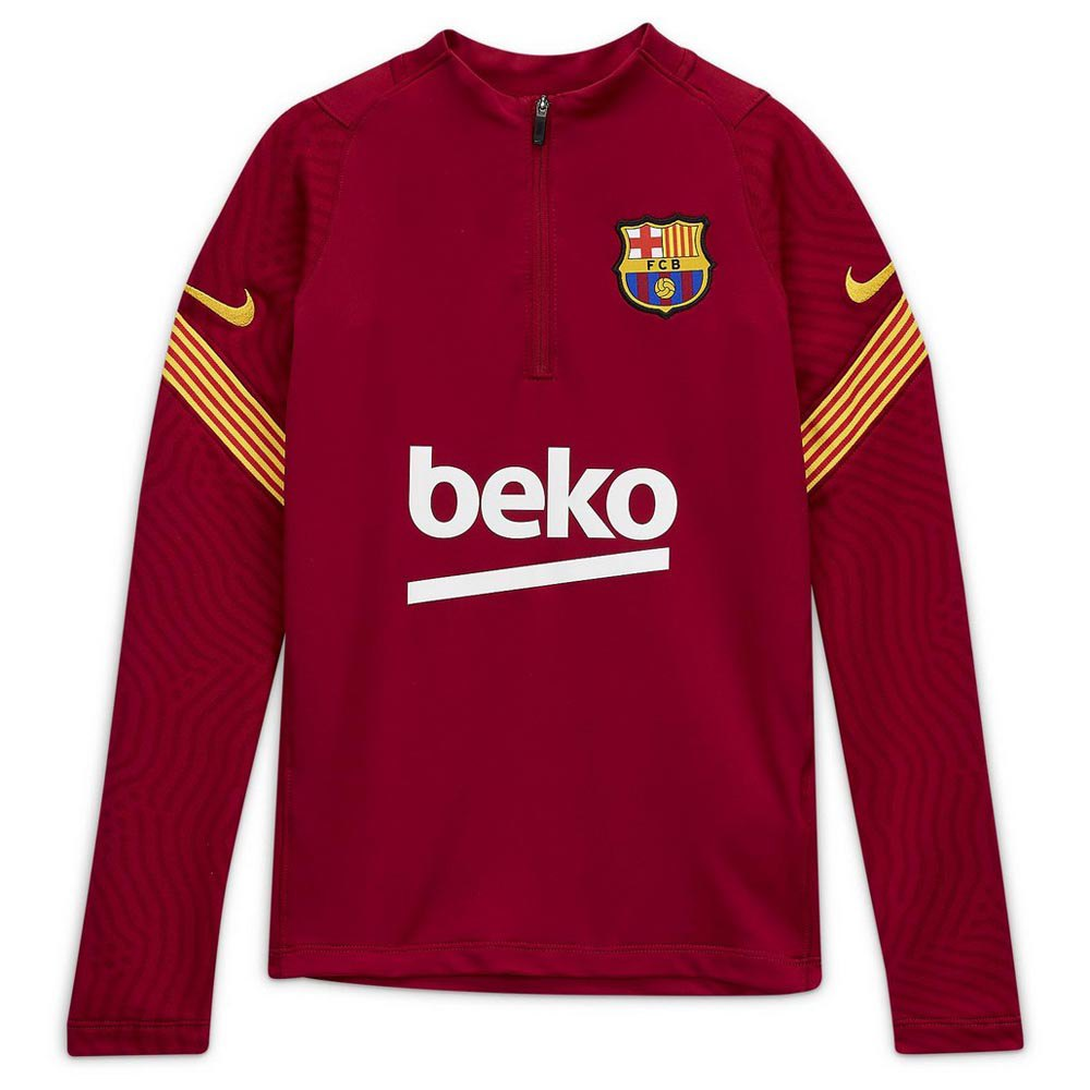 Banzai sobrino norte  Nike FC Barcelona Drill 20/21 Junior Red, Goalinn