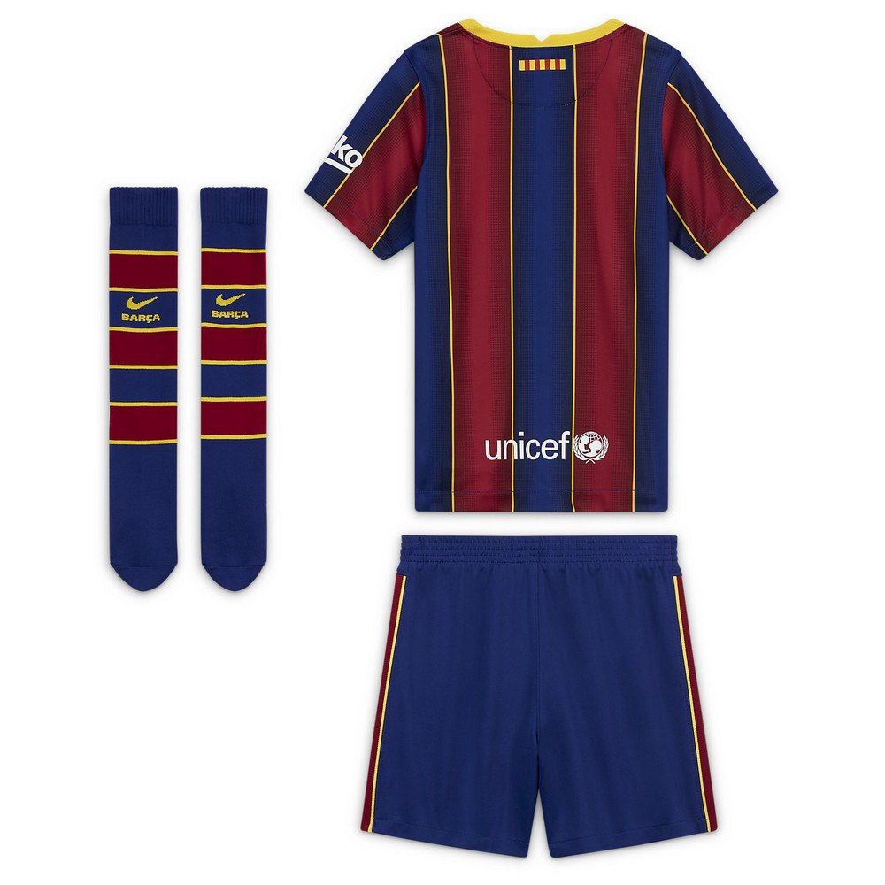 Mesa final Muy lejos sufrimiento  Nike FC Barcelona Home Breathe Mini Kit 20/21 Red, Goalinn