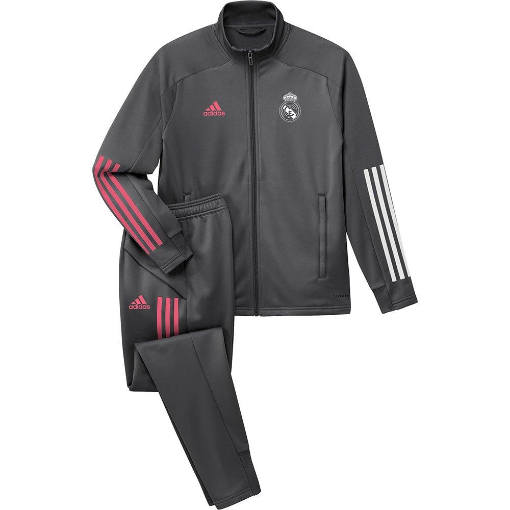 El hotel competencia Trueno  adidas Real Madrid 20/21 Junior Grey buy and offers on Goalinn