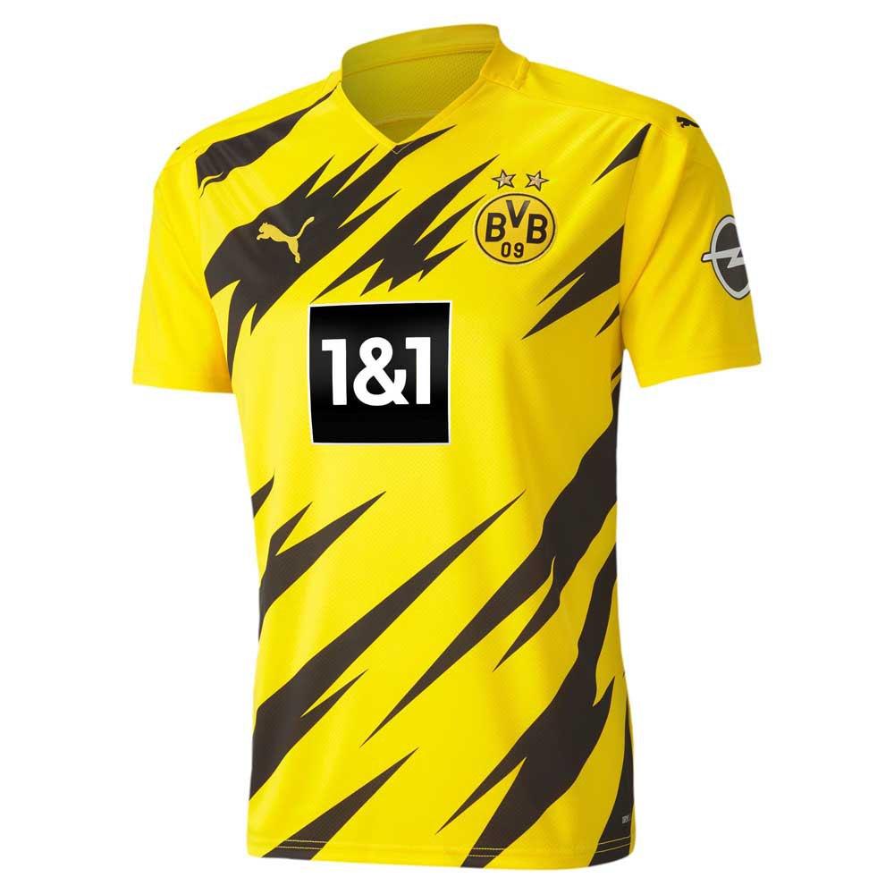 Puma Borussia Dortmund Home 20/21 T-Shirt Yellow, Goalinn