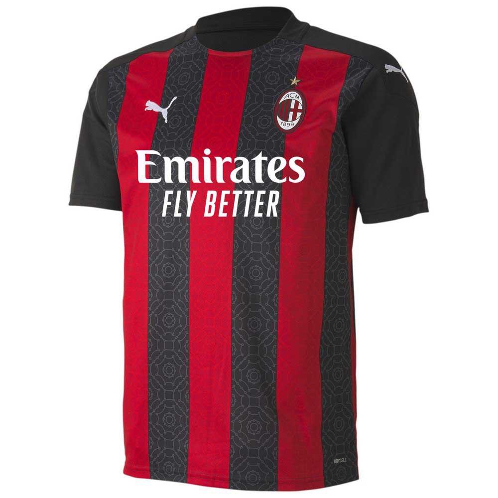 Puma AC Milan Home 20/21 T-Shirt Black buy and offers on Goalinn