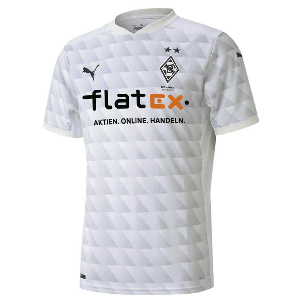 Puma Borussia Mönchengladbach Home 20/21 T-Shirt White, Goalinn