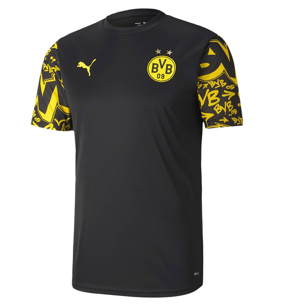 Puma Borussia Dortmund Stadium 20/21 Sweatshirt Black, Goalinn