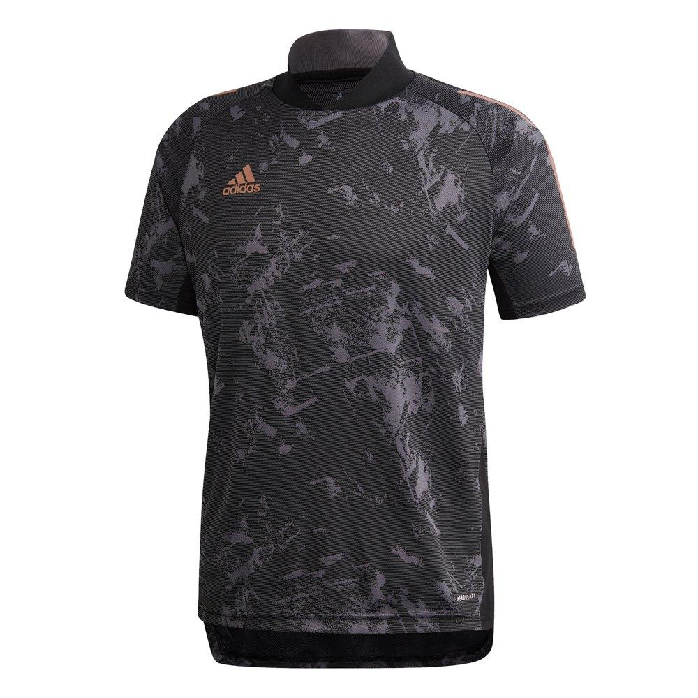 adidas Con 20 Ult Short Sleeve T-Shirt Black, Goalinn