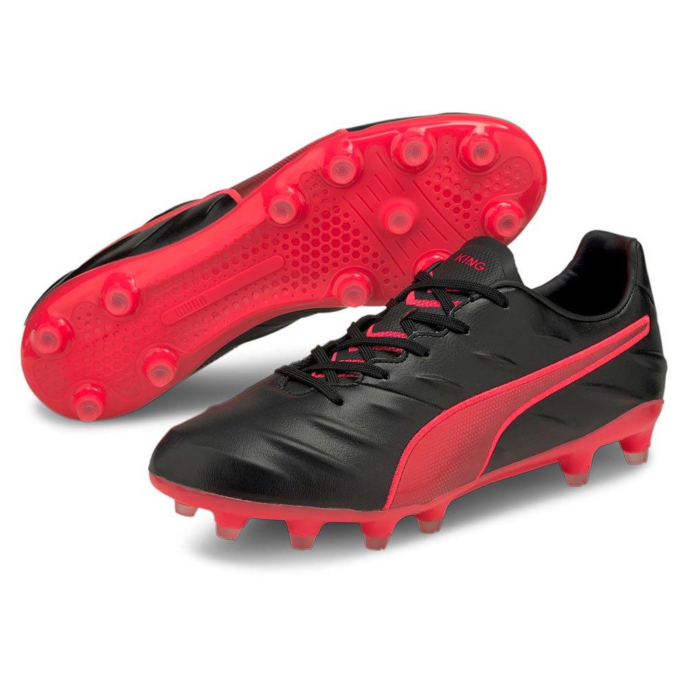 Puma King Pro 21 FG Black buy and offers on Goalinn
