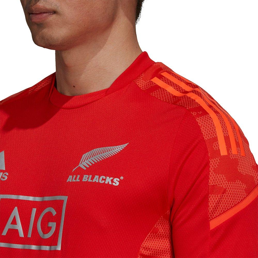 adidas All Blacks 21/22 Perf Short Sleeve T-Shirt Red, Goalinn