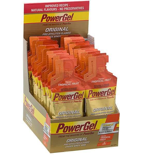 Powerbar Gel Tropical Fruit Caja 24 Unidades