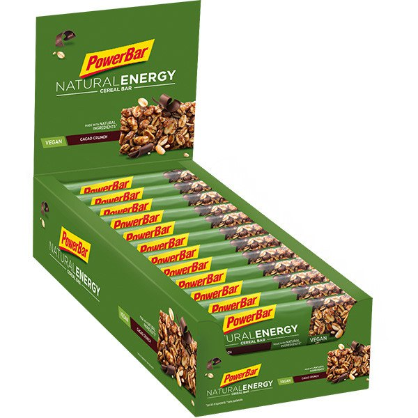 Powerbar Natural Energy Cereal Box 24 Units