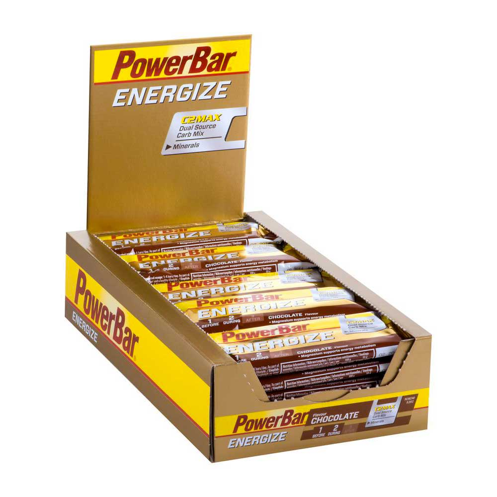 Powerbar Energize 55g Chocolate 25 Unidades