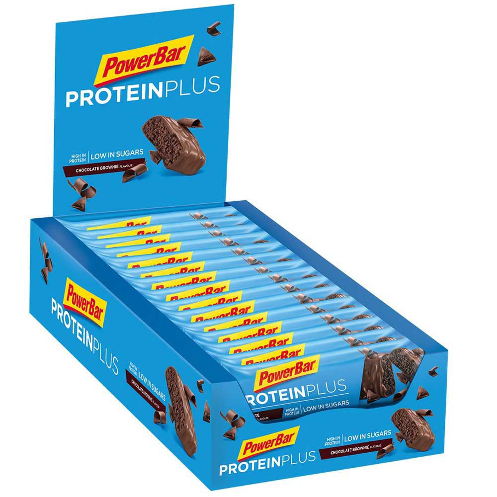 Powerbar Protein Plus Low Sugar 35gr 30 Units Choco Brownie