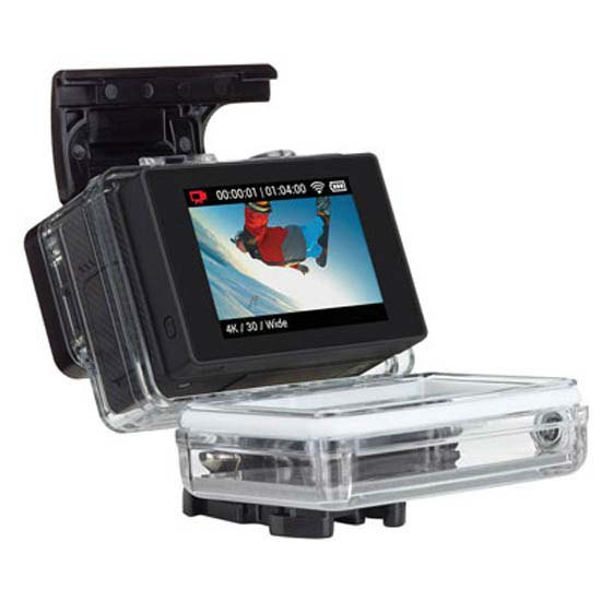 gopro lcd touch bacpac for hero 3 hero 3 plus hero 4 black. Black Bedroom Furniture Sets. Home Design Ideas