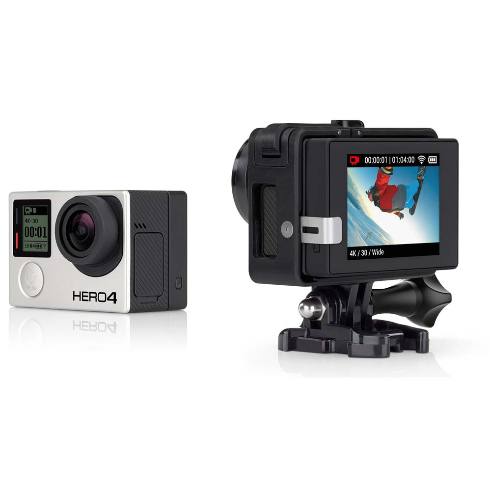 gopro lcd touch bacpac for hero 3 hero 3 plus hero 4. Black Bedroom Furniture Sets. Home Design Ideas