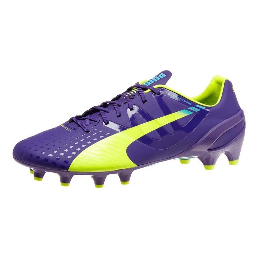 Puma Evospeed 1.3 FG Football Boots Blue, Goalinn