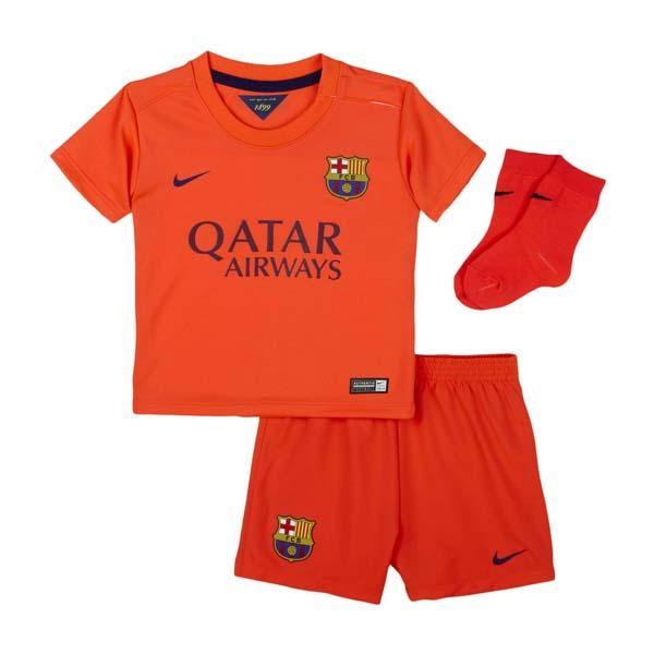 Nike FC Barcelona Away Kit 14 15 Orange 2460c3e15
