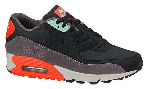 ... Nike Air Max 90 Essential Black Black Hyper Crimson ...