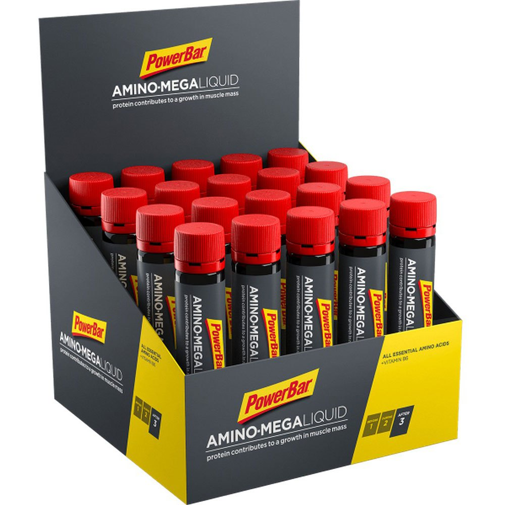 Powerbar Amino Mega 25ml 20 Units Without Flavour
