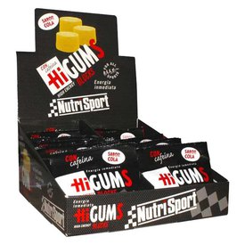 Nutrisport HiGums With Caffeine 20 Units Cola