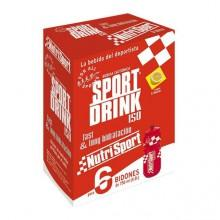 Nutrisport Sportdrink Powder 6 Units With Bottle
