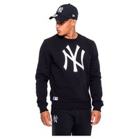 New era Felpa Con Cappuccio NY Yankees Crew Neck