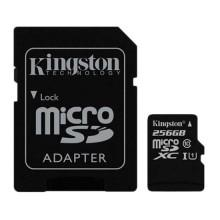 Kingston Micro SD 256GB Class 10 Gen2 With Adapt SD