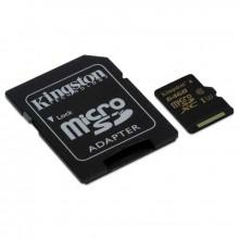 Kingston Micro SD Gold 64GB UHS-I Class 3 U3 With Adapt