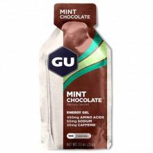 Gu Energygrel Mint Chocolate Box 24 Units