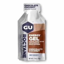 Gu Roctane Energy Gel Display Chocolate Coconut 32 gr x 24 Units