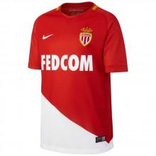 Nike AS Monaco Stadium Home Jersey S/S Junior
