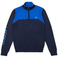 Lacoste Sport Stand Up Neck Technical Wool Golf