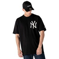 New era Maglietta Manica Corta MLB New York Yankees Big Logo Oversized