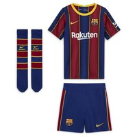 Nike FC Barcelona Home Breathe Kit 20/21 Little Kid