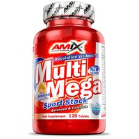 Amix Multi Mega Stack 120 Units Without Flavour